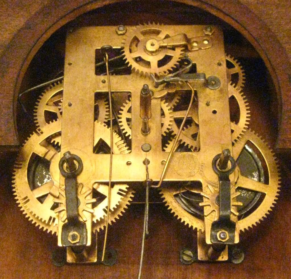 gears of an Oriental clock