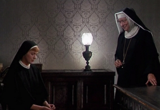 Maria with Mother Abbess