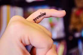Promise finger